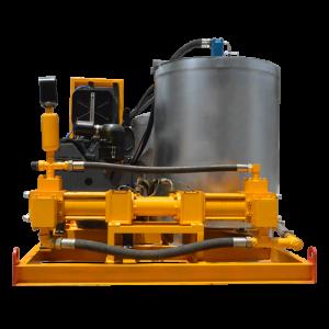 grout mixer and agitator