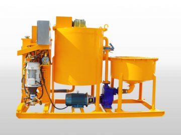 piston grout pump