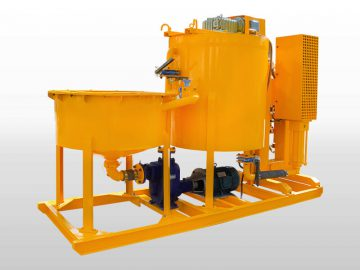 grout mixer machine
