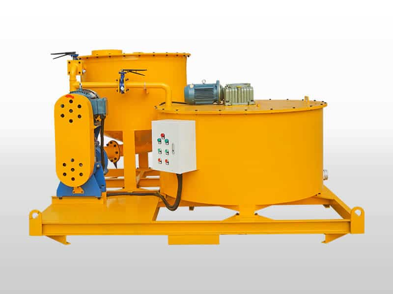 GMA850-1500E Bentonite cement grout mixer and agitator