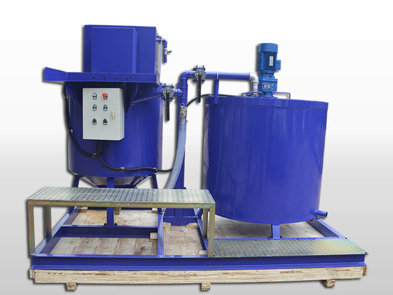 GMA500-1000E Cement grout mixer/agitator