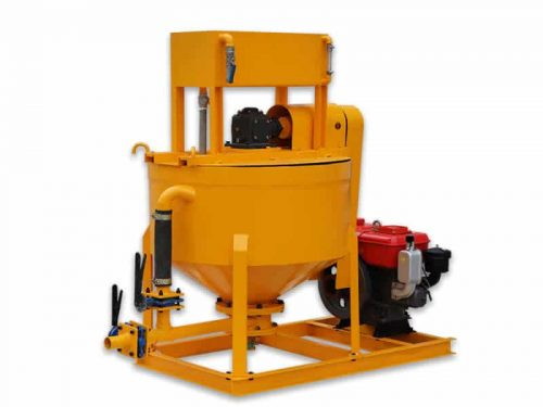cement mixing and grouting mixer