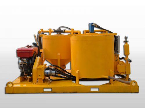 diesel grout mixer pump