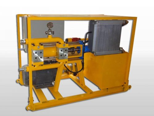 electric hydraulic grout pump