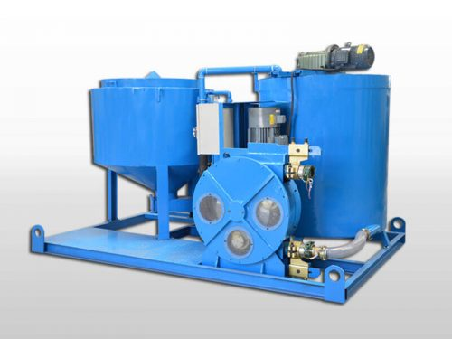 electric-motor-grout-station