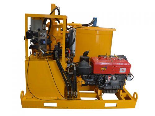 full-hydraulic-grout-pump