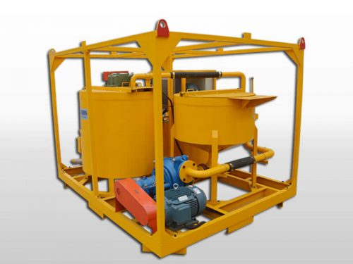 grout injection plant