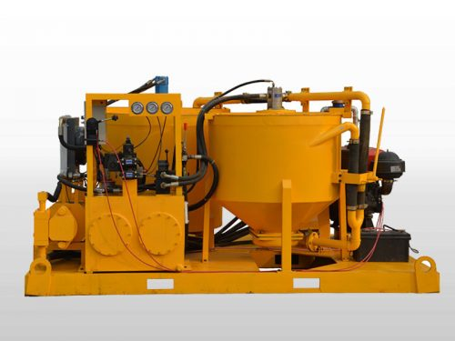 grout injection pump plant