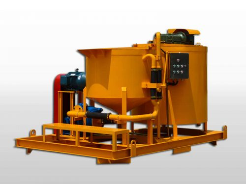 turbo grout mixer agitator